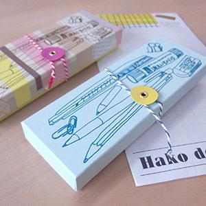 Hako de Kit 先生(レタープレス+箱組立)
